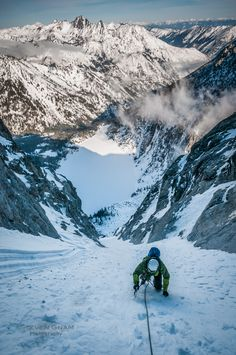 Winter Ascent of Dragontail Peak