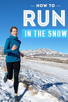 Running In Snow, Running A Mile, Winter Running, Best Running Shoes, Marathon Running, Running Tips, Snow And Ice, Running Motivation, Injury Prevention