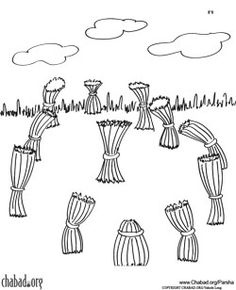 josephs dream coloring sheet - Fishers Of Men Coloring Page