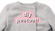 DIY Peacoat / Wool Pea Coat   WITHWENDY