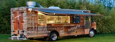 Barking Frog Mobile Kitchen-Offsite catering from Barking Frog is hitting the road in style. Introducing Barking Frog Mobile Kitchen. It's a Catering Utility Vehicle for the modern-day foodie. And it gives chef-driven a whole new meaning!