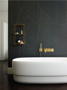 Get Inspired with 20 Luxury Black and White Bathroom Design Ideas - Very Amazing! - Best Home Ideas and Inspiration Modern Bathroom Design, Bathroom Interior Design, Modern Interior Design, Bathroom Designs, Interior Ideas, Modern Bathrooms, Luxury Interior, Bad Inspiration, Bathroom Inspiration