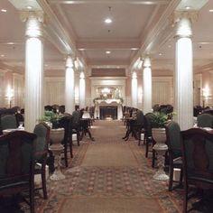 Grand Dining Room   Jekyll Island Club- best shrimp and grits  #jekyllclubsummer