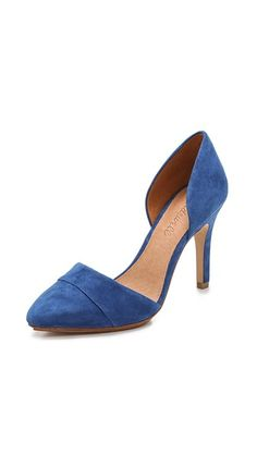 Madewell The Suede d'Orsay Heels