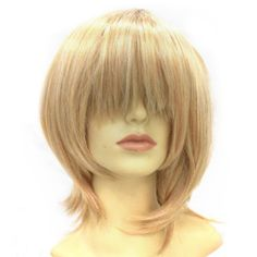 Blonde Costume Party Wig