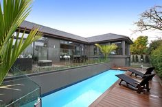 poolside decking ideas, composite decking