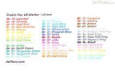 Stabilo Pen 68 Marker - 1.0 mm - Lilac - STABILO 68-58