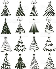 Copy on chalkboard - Christmas Tree Collection Royalty free vector graphics royalty-free stock vector artChristmas Tree Collection Lizenzfreie Vektorgrafiken Lizenzfreies vektor illustration Source by taylUno gigante para la pared Various Christmas T Noel Christmas, All Things Christmas, Winter Christmas, Christmas Ornaments, Painted Christmas Tree, Fall Winter, Christmas Tree Graphic, Vector Christmas, Christmas Doodles