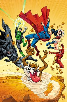 DC Comics Looney Toons variant covers