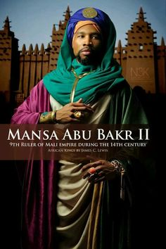 AFRICAN KINGS by International Photographer James C. Lewis | Mansa Abu Bakr II
