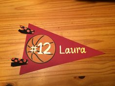Hotel Door Hanger Signs -  Made these for my daughter's basketball team's tournament.