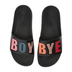 NEW Sam Edelman Circus Flynn Boy bye pool slides sandals size 6 for Sale in Gardena, CA - OfferUp Women's Shoes, Golf Shoes, Boy Bye, Christmas Gifts For Women, Black Boys, Samara, Pool Slides, Types Of Shoes, Nike