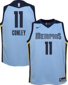 Nike Youth Memphis Grizzlies Mike Conley  11 Light Blue Dri-FIT Swingman  Jersey 10f77a70f