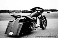 Atlanta Custom Baggers | One Badass One Off Big Wheel Bagger