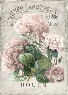 Fiori Fiori The Effective Pictures We Offer You About Decoupage kitchen A quality picture can tell you many things. You can find the most beautiful pictures that can be presented to you abo Decoupage Vintage, Vintage Ephemera, Vintage Labels, Vintage Cards, Vintage Paper, Vintage Postcards, Decoupage Glass, Vintage Pictures, Vintage Images