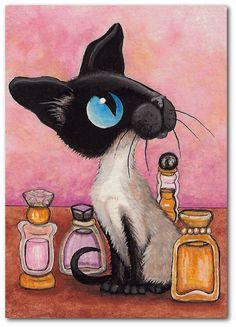 """Parfum Kitty"" par Amy Lyn Bihrl"