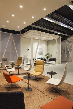Catifa Lounge by Lievore Altherr Molina Arper Salone del Mobile Milan 2013…