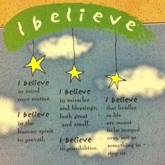 "Pisces:  #Pisces Motto: ""I Believe."""