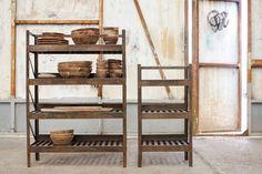 Wooden Shelf Unit, Wooden Shelves, Shelf Units, Cabinet Shelving, Room Shelves, Shelf Furniture, Large Furniture, Wooden Lockers, Slatted Shelves