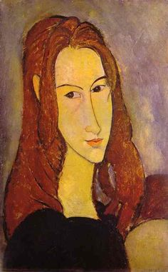 It's hard to find accurate color in Modigliani pictures online. I love his portraits of Jeanne Hébuterne, which I suppose is rather narcissistic, as they look a lot like I did when I was younger.
