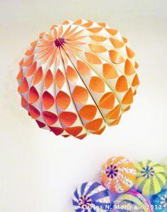 Gourd/Sea Creature - Paper Art by Carlos N. Molina - Paper Art, via Flickr