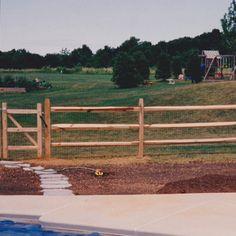 "split rail fence prices | 48"" High Hardwood Split Rail -Post and Rail"