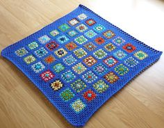 Jason, this is something you could do with the squares Grandma made~