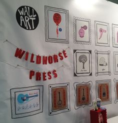 Passive Program Idea - Butcher Paper, hand-drawn frames, let the kids draw art.