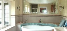 bathrooms with venetian mirrors - Google Search