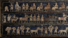 Standard of Ur: interpret meanings of two sides of this ancient item. History of the World in 100 Objects - interactive site, high quality images, and audio podcast.