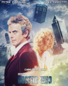Peter Capaldi as 12th Doctor, Alex Kingston as River Song