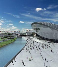 Olympic 2012 London stadium
