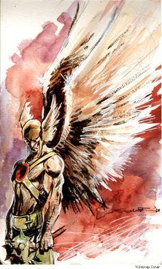 Hawkman by Yildiray Cinar
