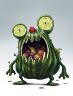 Mangueur de Fruits by Peter Jaworowski