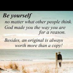 Learning to be myself~~!