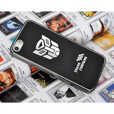 New Hot Transformer Brushed Metal Cell Phone Case For Apple iphone 5 case Black - FixShippingFee- - TopBuy.com.au
