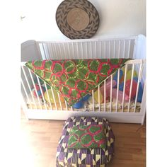 Handmade Baby Blanket and Matching Cushion    Green & Pink