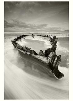 The Sunbeam shipwreck by Eric Dega