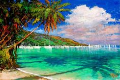 Caribe Cool Art, Awesome Art, New Words, Around The Worlds, Artist, Paintings, Travel, Collection, Getting To Know