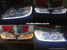 Dual Projector headlights India | Hid projector lamps India | Polo Projectors