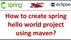 Spring Tutorial, The Creator, Coding, Create, World, Projects, Log Projects, Blue Prints, The World