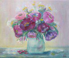 Buy Flowers for the beloved, Oil painting by Iryna Whittaker on Artfinder. Discover thousands of other original paintings, prints, sculptures and photography from independent artists.