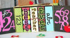 Teacher's Book Cabinet by Tamara Tripodi  SVGcuts.com