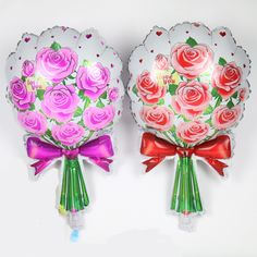 Like and Share if you want this  Rose Bouquet Shaped Foil Balloon     Tag a friend who would love this!     FREE Shipping Worldwide     Get it here ---> https://partyinstyleshop.com/rose-bouquet-shaped-foil-balloon/