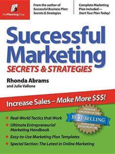 Successful Marketing Secrets & Strategies