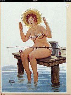 """Hilda"" Artist Duane Bryers ©"