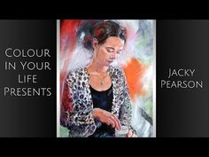 How to Paint Watercolour Portraits with Jacky Pearson | Colour In Your Life - YouTube