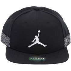 08f6f8cf769 Nike Men Air Jordan Jumpman Pro Aj 3 Hat ( 50) ❤ liked on Polyvore