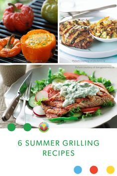 It's hot outside so keep the heat out and fire up the grill for these delicious summertime recipes. Bison Recipes, Turkey Recipes, Pork Recipes, Fruit Recipes, Egg Recipes, Potato Recipes, Chickpea Recipes, Vegetarian Recipes, Grilled Salmon Salad