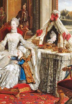 Queen Charlotte. Sophia Charlotte van Mecklenburg-Strelitz, hertogin van Mecklenburg (1744-1818).  http://24.media.tumblr.com/a10a2897ddbc574d3769ce63ecdfb0fb/tumblr_mgxv0bEIN81qa2wieo1_1280.jpg